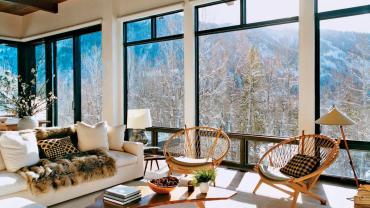 Большие окна в интерьере дома