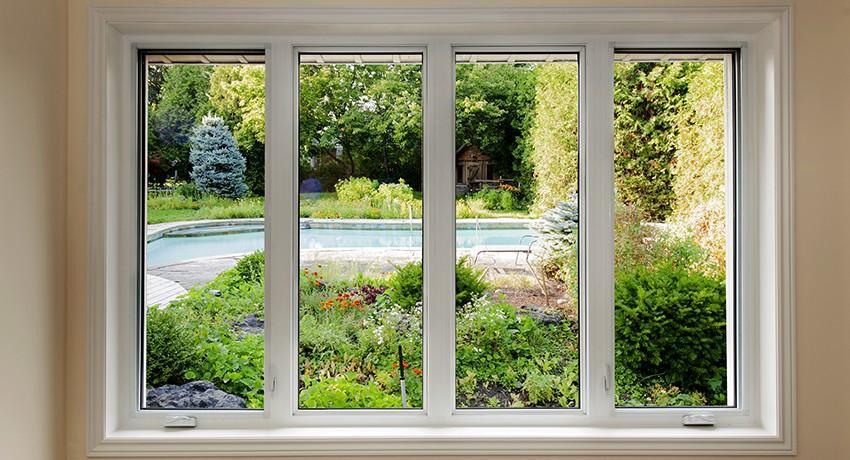 Оконные откосы, пластиковые откосы, окна, трава
